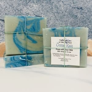 Ocean Rain Scented Soap with Goat Milk