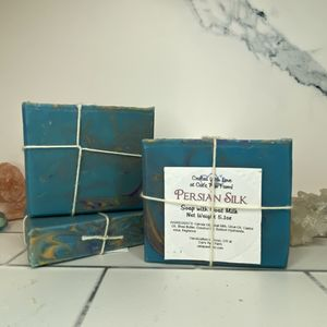 Persian Silk Scented Soap with Goat Milk
