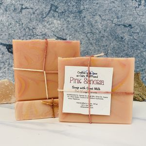 Pink Sangria Scented Soap with Goat Milk