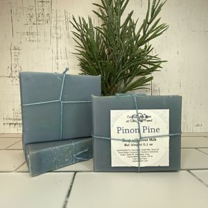Pinon Pine Scented Soap with Goat Milk