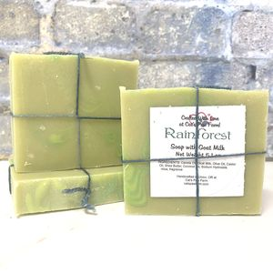 Rainforest Scented Soap with Goat Milk
