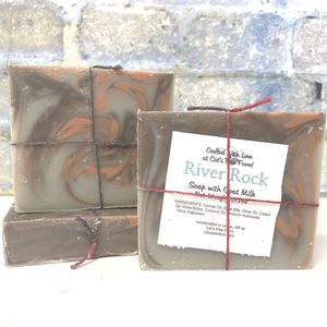 River Rock Scented Soap with Goat Milk