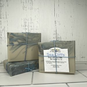 Sea Cliffs Scented Soap with Goat Milk