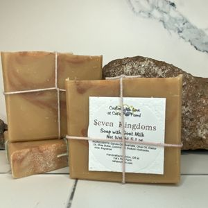 Seven Kingdoms Scented Soap with Goat Milk