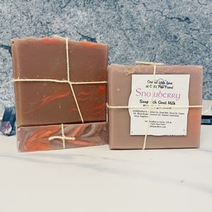 Snowberry Scented Soap with Goat Milk