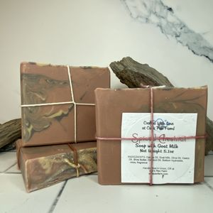 Spiced Chestnuts Scented Soap with Goat Milk