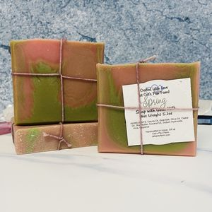 Spring Scented Soap with Goat Milk