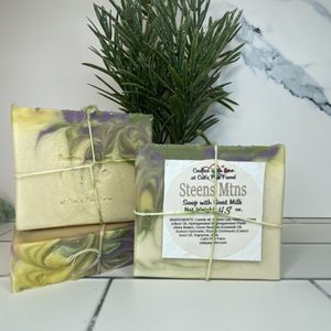 Steens Mountains Scented Soap with Goat Milk