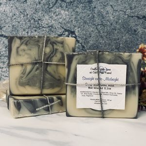 Straight on to Midnight Scented Soap with Goat Milk