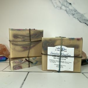 Sweater Weather Scented Soap with Goat Milk