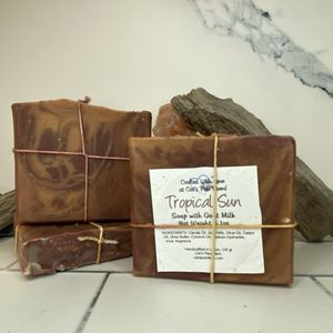 Tropical Sun Scented Soap with Goat Milk