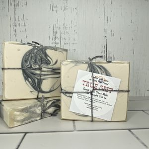 True Grit Scented Pumice Soap with Goat Milk
