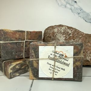 Vanilla Sandalwood Scented Soap with Goat Milk