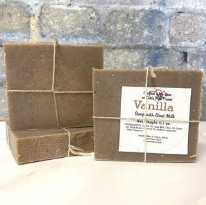 Vanilla  Scented Soap with Goat Milk