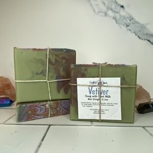 Vetiver Scented Soap with Goat Milk
