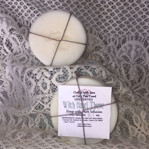 Witch Hazel and Thyme Unscented Vegan Soap