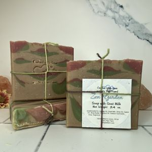 Zen Garden Scented Soap with Goat Milk