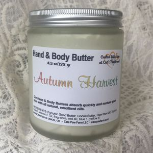 Autumn Harvest Body Butter