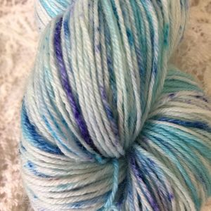 Hydrangea Fingering Handpaints Yarn