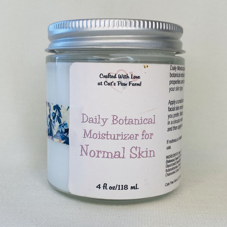 Daily Botanical Moisturizer for Normal Skin