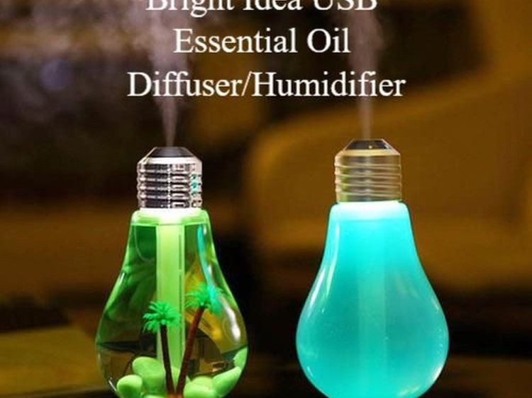 Bright Idea USB Essential Oil Diffuser Humidifier