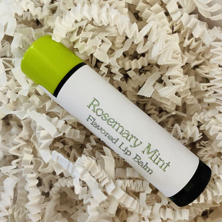 Rosemary Mint Flavored Lip Balm
