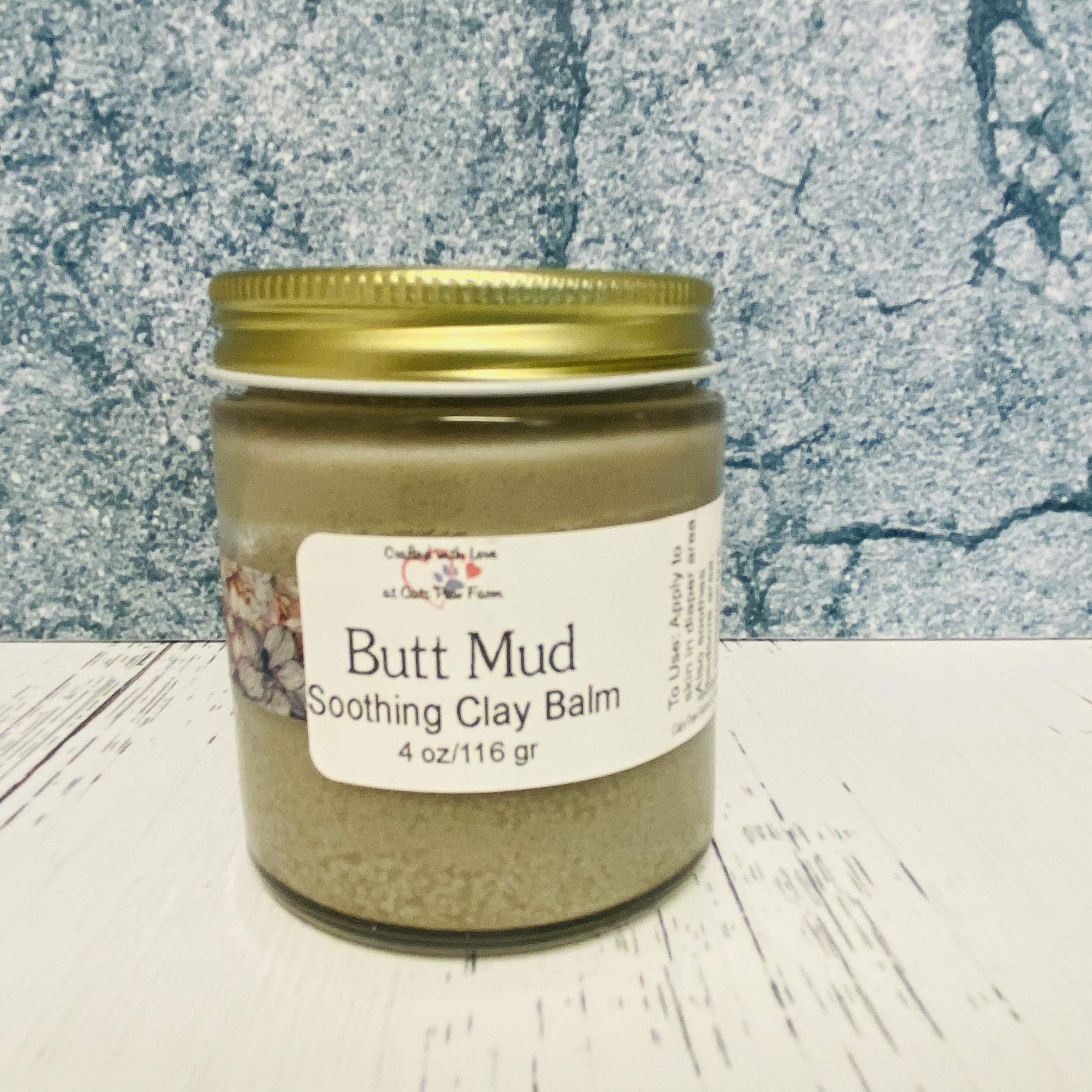 Butt Mud Soothing Clay Balm