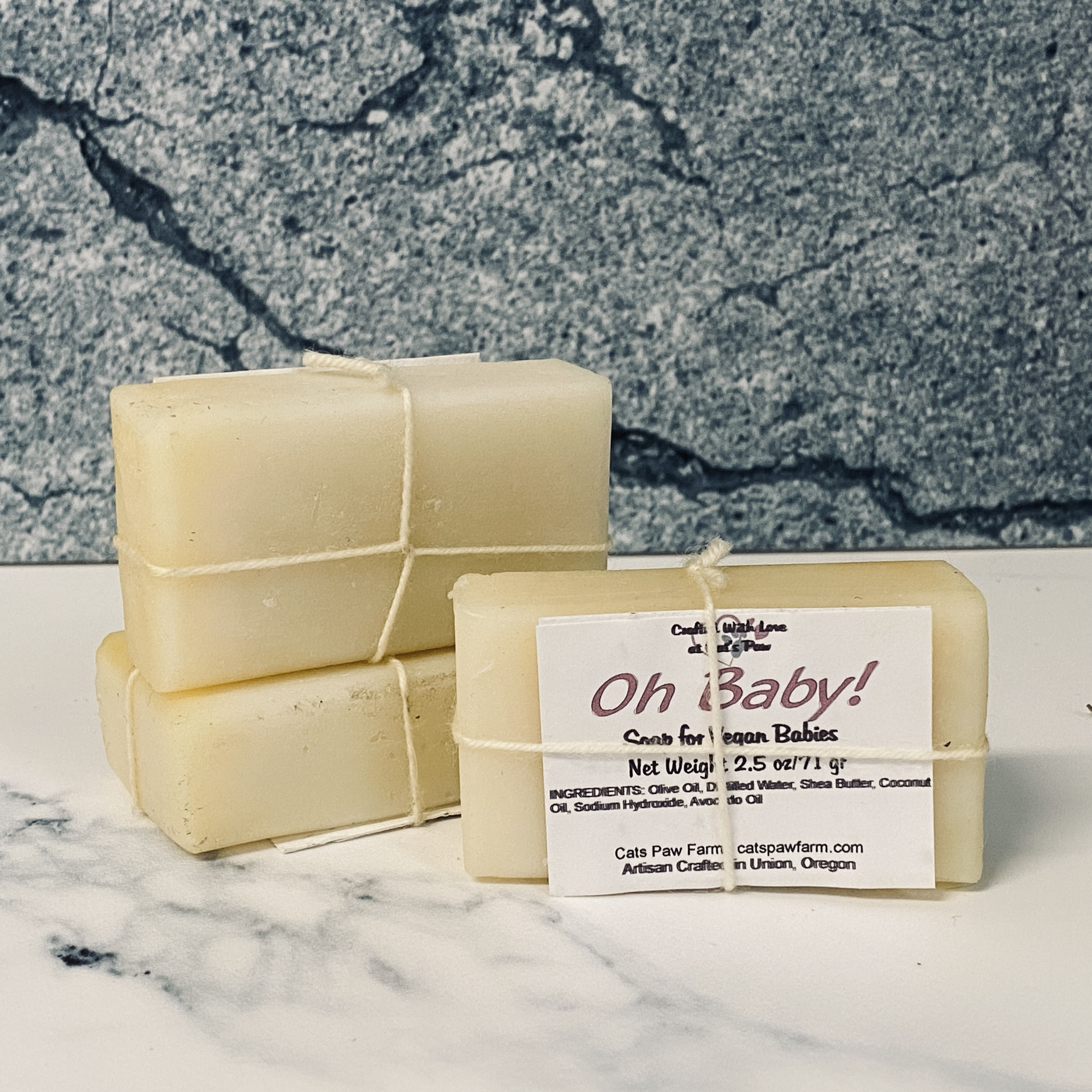 Oh Baby! Unscented Vegan Soap