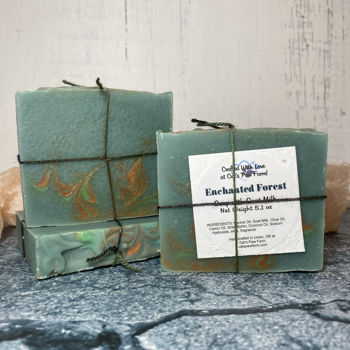 Enchanted Forest Scented Soap with Goat Milk