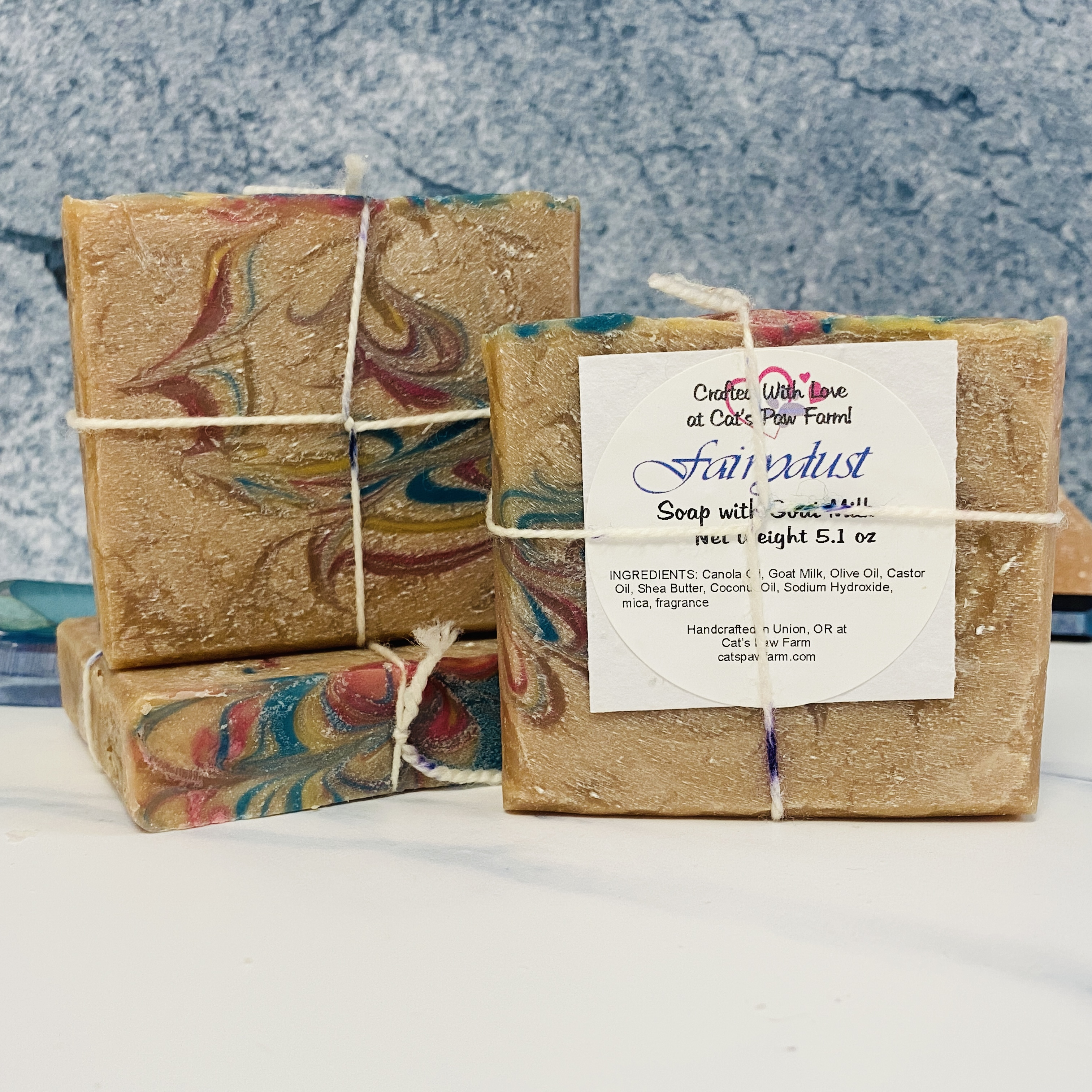 Fairydust Scented Soap with Goat Milk