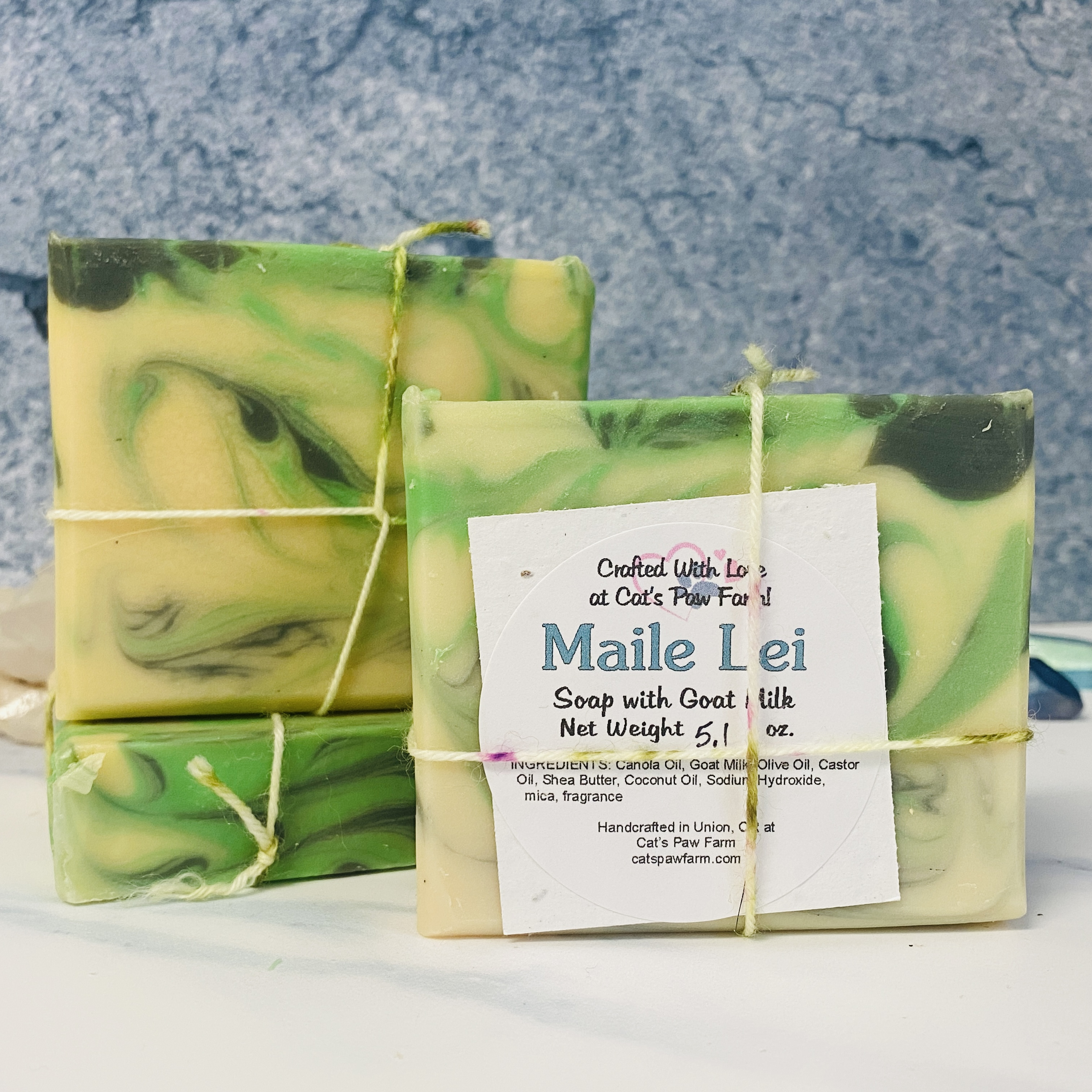 Maile Lei Scented Soap with Goat Milk