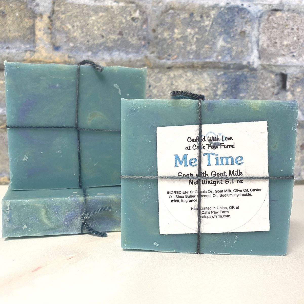 Me TIme Scented Soap with Goat Milk