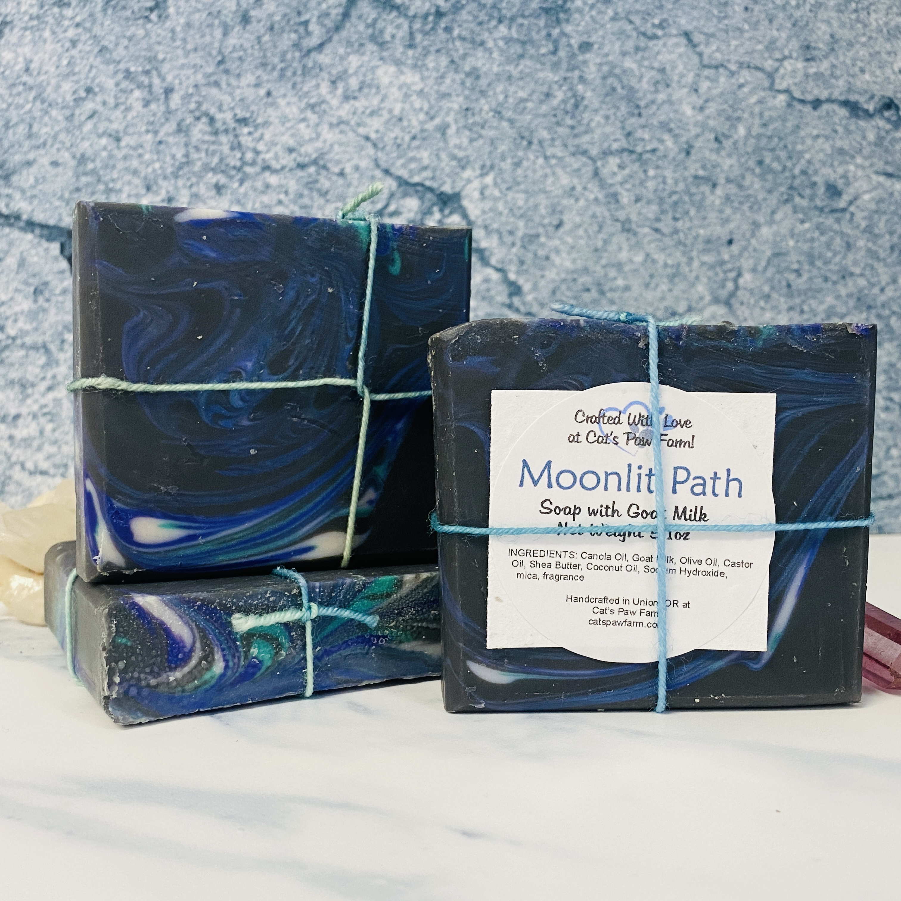 Moonlit Path Scented Soap with Goat Milk