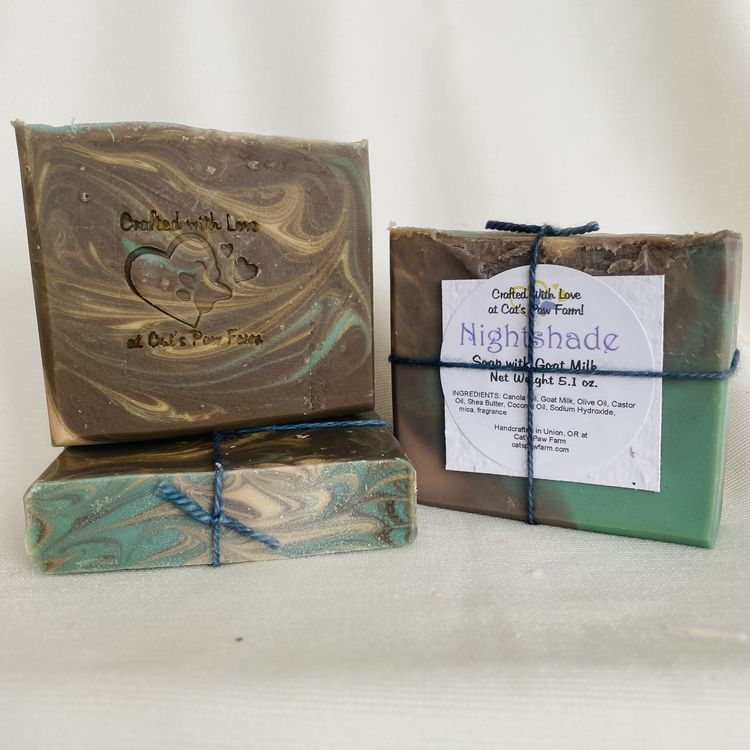 Nightshade Scented Soap with Goat Milk