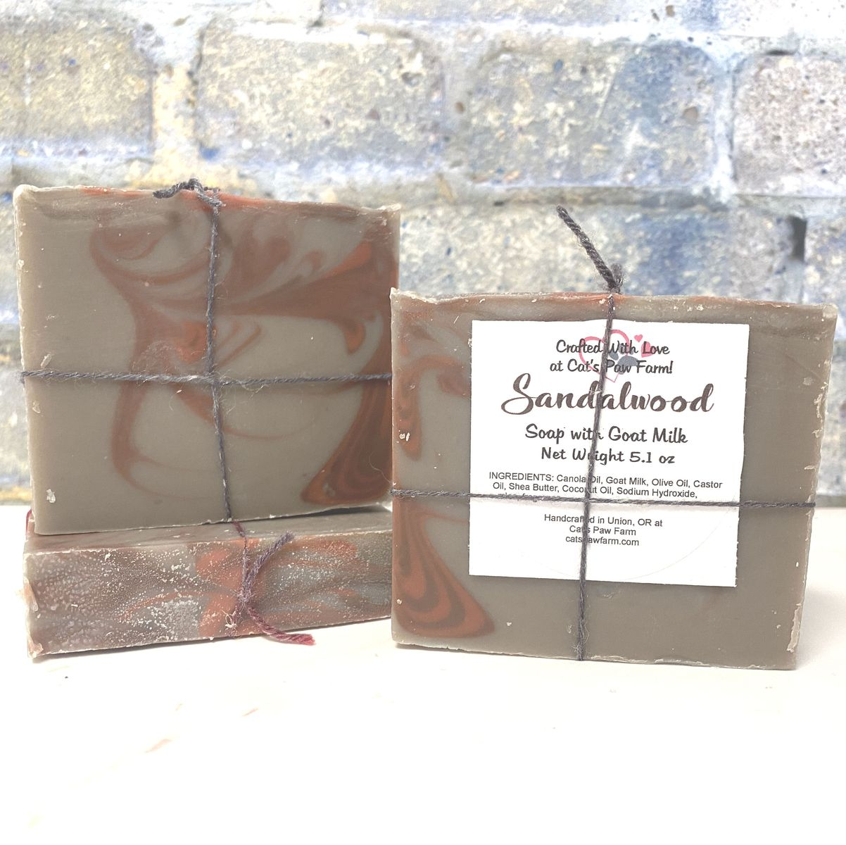 Sandalwood Scented Soap with Goat Milk