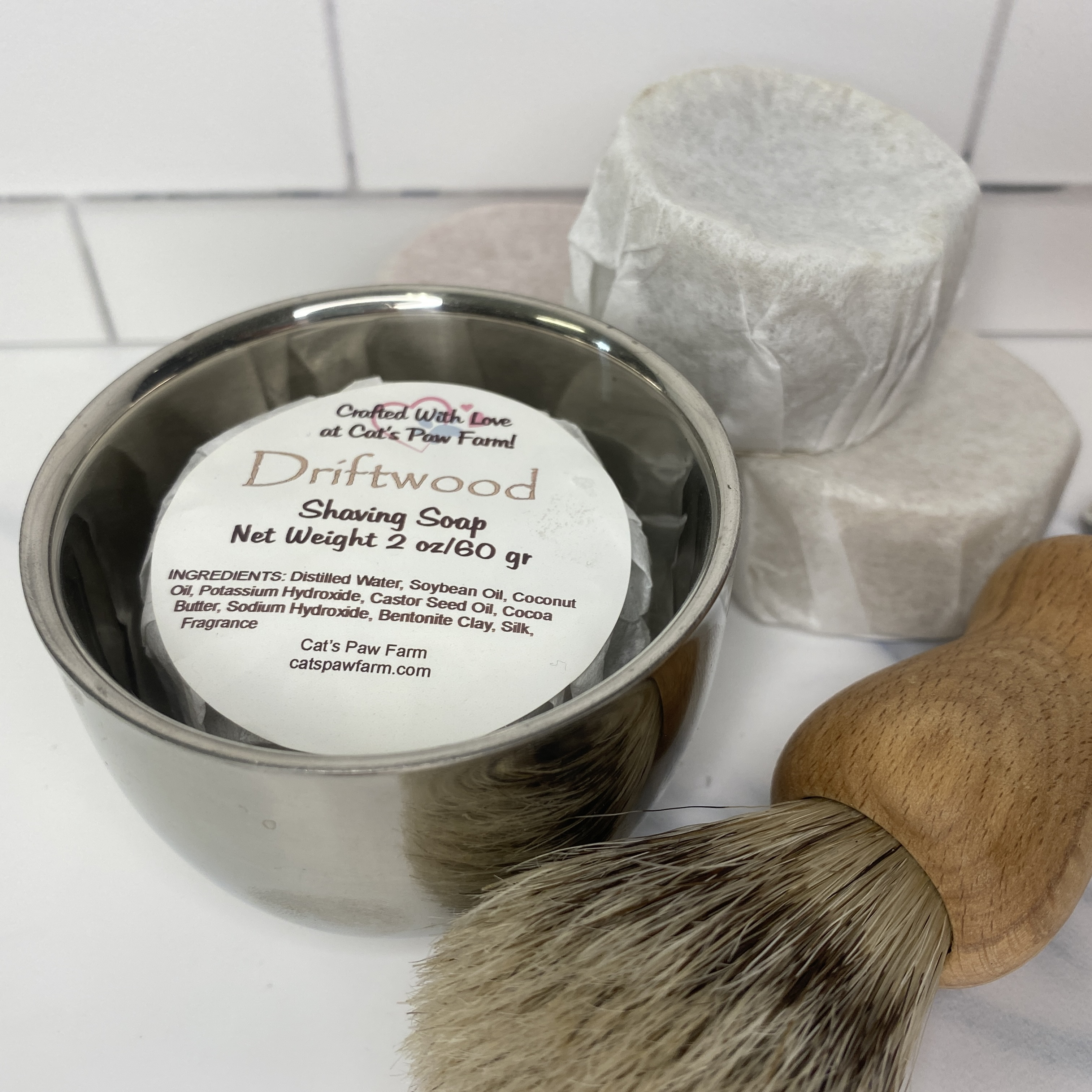 Driftwood Shaving Soap