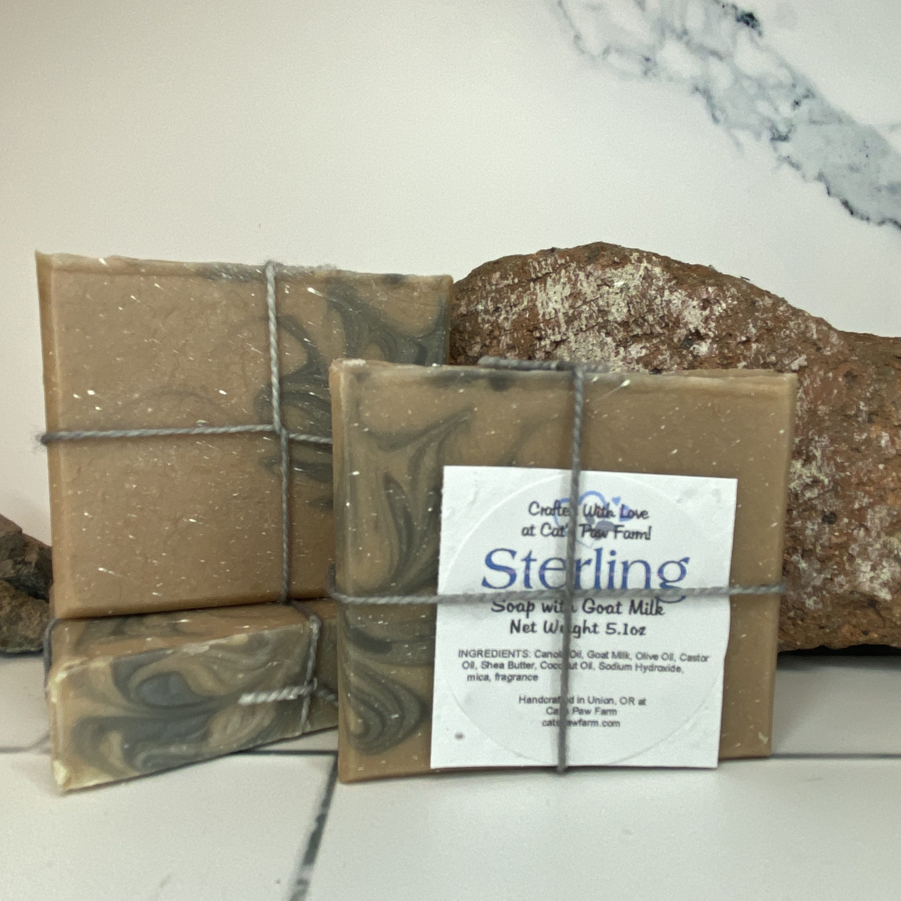 Sterling Scented Soap with Goat Milk