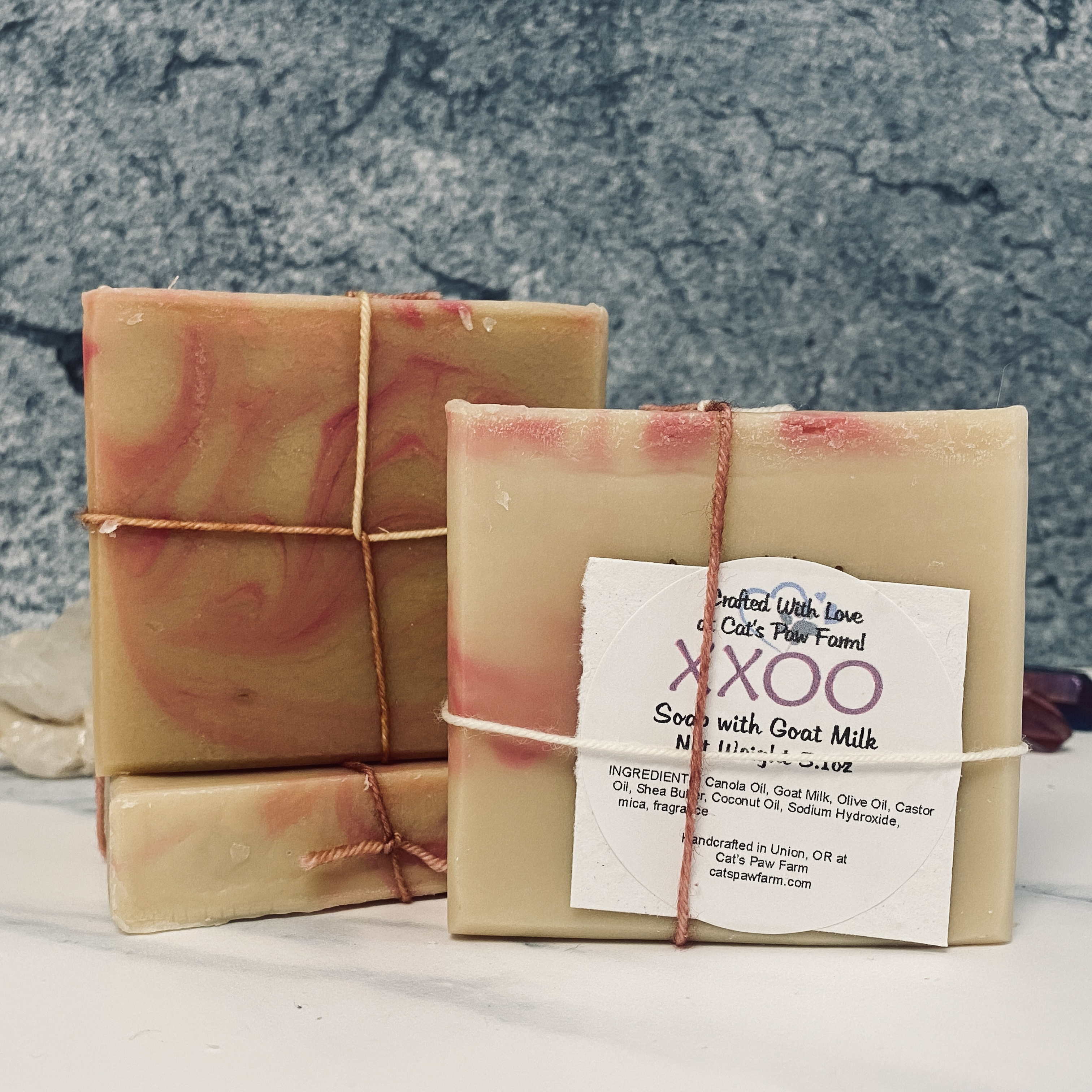 XXOO Scented Soap with Goat Milk