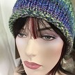 Blues Roll and Slouch Cap