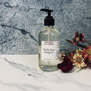Vanilla Rose Massage Oil