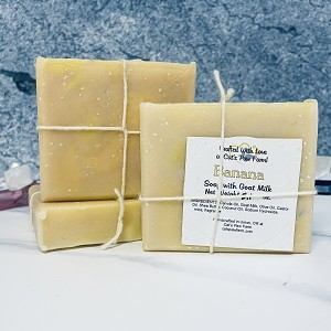 Banana Scented Soap with Goat Milk