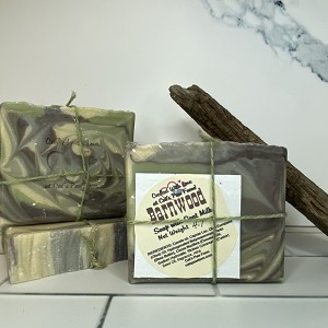 Barnwood Scented Soap with Goat Milk