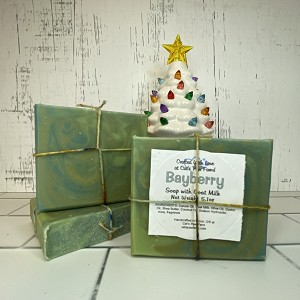Bayberry Scented Soap with Goat Milk