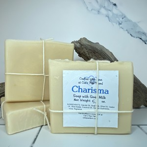 Charisma Scented Soap with Goat Milk