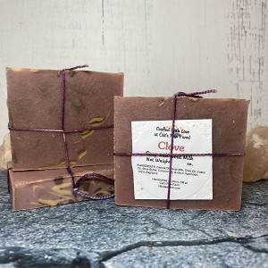 Clove Scented Soap with Goat Milk
