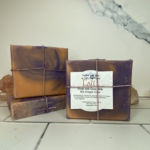 Fall Scented Soap with Goat Milk