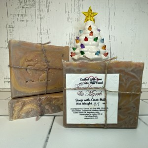 Frankincense and Myrrh Scented Soap with Goat Milk