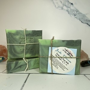 Jade Dream Scented Soap with Goat Milk