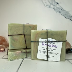 Moonstone Scented Soap with Goat Milk