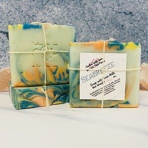 Sea Breeze Scented Soap with Goat Milk